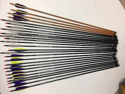 Carbon Express Heritage 150 Carbon Arrows & Bearpaw Penthalon Traditional 500