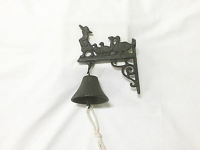 K-arc Small Rustic Cast Iron Geese Bell (1184-0248)