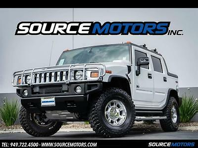 2007 Hummer H2 SUT 4dr Crew Cab 2007 Hummer H2 SUT ONLY 3K ORIGINAL MILES, Leather, Sunroof, Side Steps Pristine