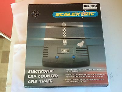 Scalextric Electronic Lap Counter And Timer Boxed C8045