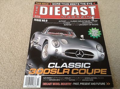 The Diecast Magazine Issue 9 Die Cast Cars 300 SLR Coupe Free Shipping