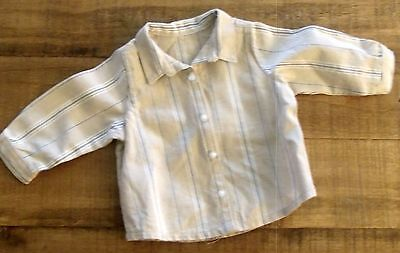 American Girl KIT'S Hobo Overalls Outfit STRIPED SHIRT Only ~ EUC !!!