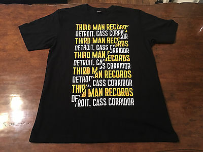 Third Man Records Cass Corridor Detroit T-Shirt – Medium – Jack White
