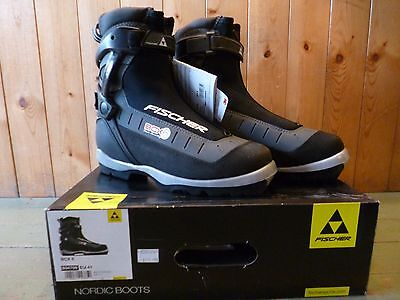 Fischer BCX 6 Back Country Cross Country Ski Boots Size 41
