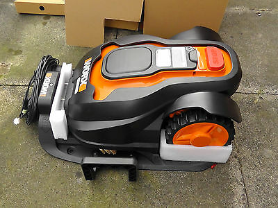 New Worx Landroid 500m2 Robotic Mulching Mower With 3 Year Warranty.