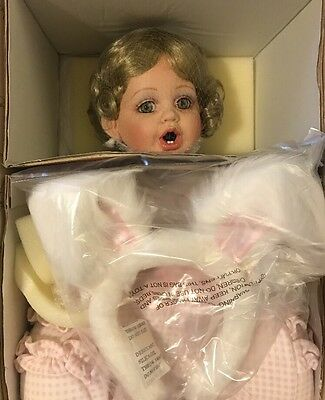 The Fayzah Spanos Bottle Or Binky Porcelain Doll NRFB