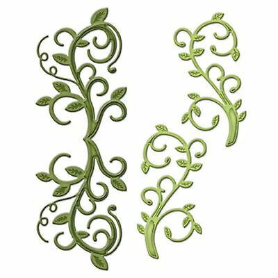 SPELLBINDERS SHAPEABILITIES cutting dies FOLIAGE FLOURISH ww Sizzix Cuttlebug