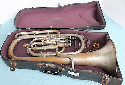 Besson International 3 Valve Bb Baritone Horn Includes Mouthpiece