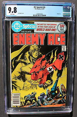 DC SPECIAL #26 1st ENEMY ACE reprint from OAAW #151 1977 Joe KUBERT CGC NMMT 9.8