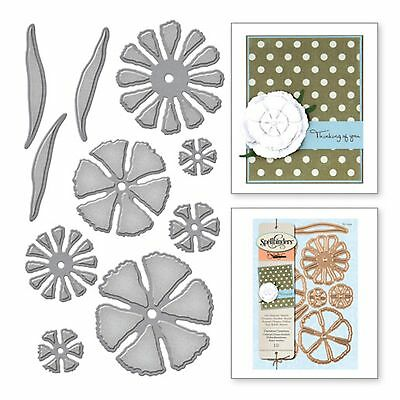 SPELLBINDERS SHAPEABILITIES cutting dies CARNATION CREATION ww Sizzix Cuttlebug