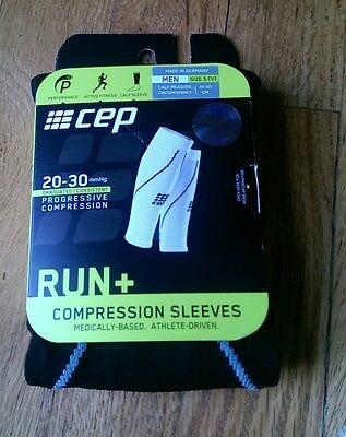 CEP Black Compression All Sports Calf Sleeve for Men Running