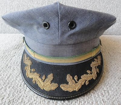 """VINTAGE obsolete Baltimore County Maryland Police Officer Hat size 7-1/8"""""""