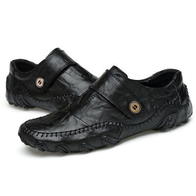 Fashion Men Leather Driving Moccasins Sports Shoes Casual Slip-on Flats Sneakers