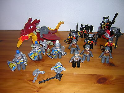 ( D11 ) LEGO DUPLO Knight Dragons Accessories SELECTION OF