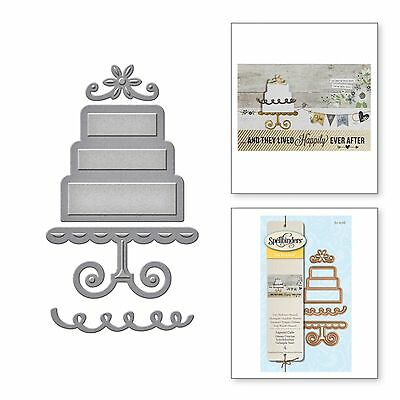 SPELLBINDERS D-LITES cutting die LAYERED CAKE Cuttlebug / Sizzix compatible