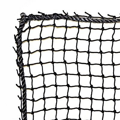 Golf Barrier Net,Knotted Nylon , #18 High Impact, Black, 10' X 10' NEW!!