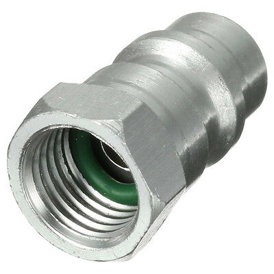 """R12 R22 R502 to R134A Fast Quick Conversion Adapter Valve 1/4"""" to 8v1 Thread S9O"""