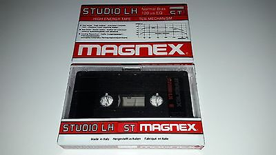 Audio Cassette Magnex Studio Lh 5' ...10 Pcs New Sealed Ultra Rare