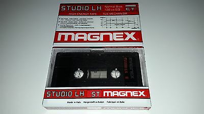 Audio Cassette Magnex Studio Lh 5' ...20 Pcs New Sealed Ultra Rare