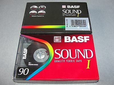 Audio Cassette Basf 90' Sound Normal ..10 Pcs New Sealed