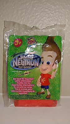 Intergalactic Message Notepad 2003 Wendy's #5 Toy Jimmy Neutron