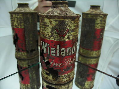 Wielands Extra Pale Lager 12 oz Cone Top Beer Can
