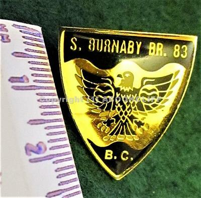 Rcl Branch # 83 South Burnaby B.c Royal Canadian Legion Son Of A Bee