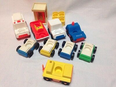 Vintage Fisher Price Little People Cars And Trucks