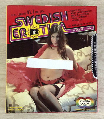 8mm Adult Film Swedish Erotica For Love Or Money #300 Color Movie