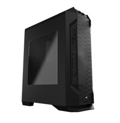 NEW Aerocool LS-5200 Black Mid Tower Case with Window
