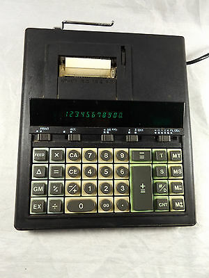 Vintage Olivetti EC 162 PD Electronic Desktop Calculator with Print Function