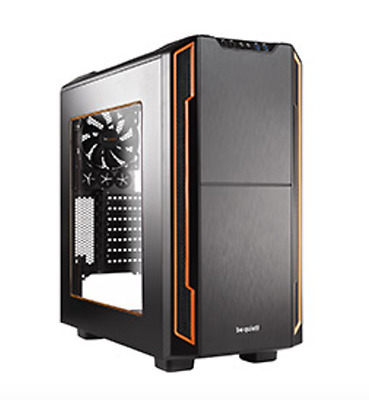 NEW Be Quiet! Silent Base 600 Case with Window Orange