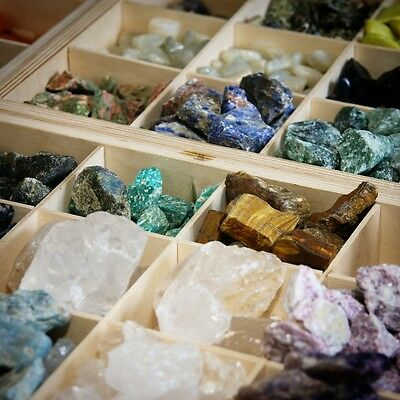Rough Minerals - Crystals Gems ~ types and size Mineral Specimens Rough Crystals