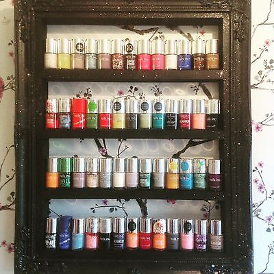 Wall Mounted Nail Polish Rack Organizer Display Holder Shelf