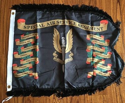 SAS Special Air Service Colours Guidon British Souvenir Flag 3x2FT