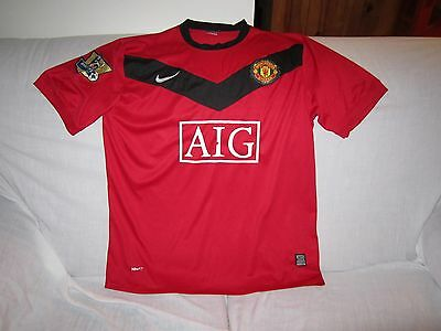 Epl Manchester United Nike Shirt Jersey Tight Size 2Xl
