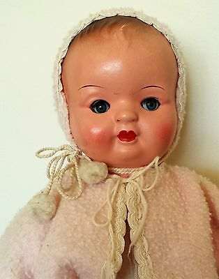 Rare 1920/30s German Clockwork Baby Doll All Original A1 Condition Works Well