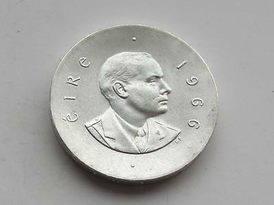 Good Irish Silver Patrick Pearse Ten Shilling Easter Rising coin dated 1966
