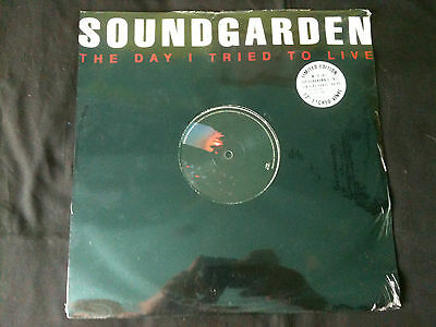 "Soundgarden - The Day I Tried To Love  12"" UK 1994  EX/Mint Sealed Ltd  # Grunge"