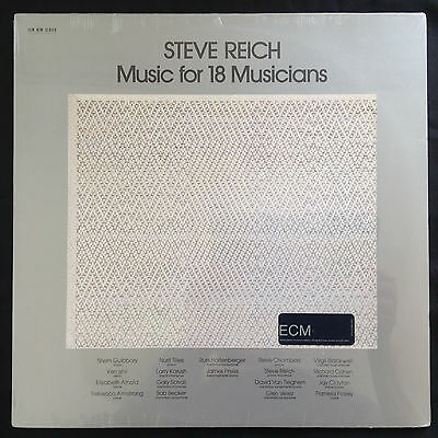 Steve Reich Music For 18 Musicians ECM 80ies Jay Clayton Karush Chambers SEALED