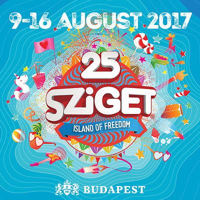 Sziget Festival 2017, 7-Day Pass Ticket