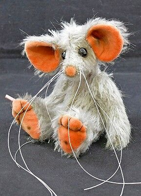 Cobi a 5.5 inch Traditional Mohair Artist Mouse Bear by Bears of Bath