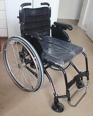 Panthera S2 wheelchair rigid frame for active use. 39 cm seat. Max user 100 kg
