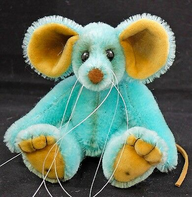 Sky a 5.5 inch Traditional Mohair Artist Mouse Bear by Bears of Bath