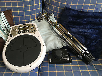 Roland Handsonic 10 (HPD-10) + Stand + Roland Kick Trigger (KD7) Great Condition