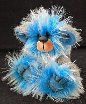 Bluebell a 5.5 inch Faux Fur and Mohair Artist Bear by Bears of Bath