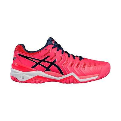 Asics Womens Gel Resolution 7 Tennis Shoes - NEW 2017 Trainers Sneakers Adult