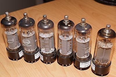 6 x 6CM5 - EL36 Pentode tubes - AWV / Philips - Close Match - Tested