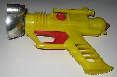 DAN DARE Cosmic Raygun yellow colour boxed palitoy space rocket