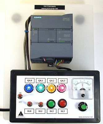 Siemens S7 1200 PLC Trainer, ANALOG  ((NO Software))